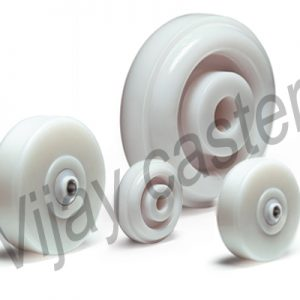 Nylon Trolley Wheel Manufacturer, Supplier and Exporter in Ahmedabad, Gujarat, India