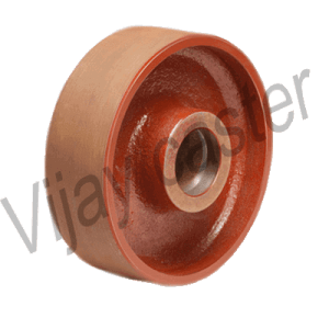CI Trolley Wheel Manufacturer, Supplier and Exporter in Ahmedabad, Gujarat, India